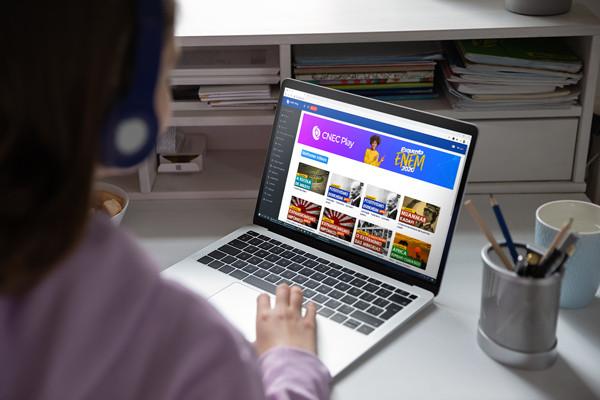 Sistema de Ensino CNEC lança nova plataforma de vídeos e streaming
