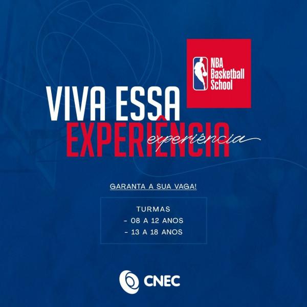 Colégios CNEC abrem inscrições para o programa NBA Basketball School