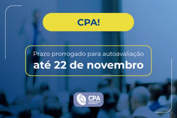 CPA prorroga prazo para autoavaliação institucional
