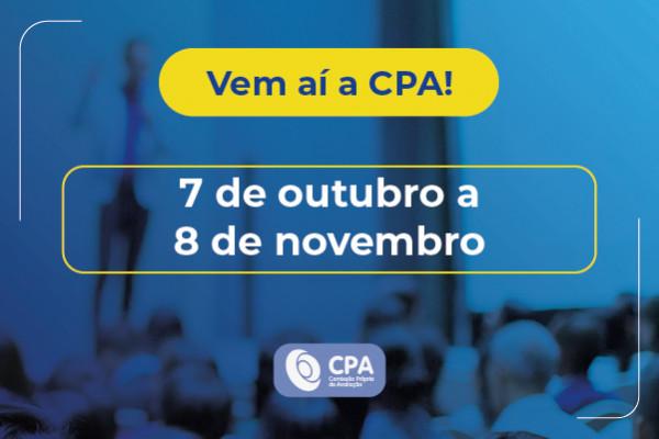 CPA realizará autoavaliação institucional de 7 de outubro a 8 de novembro