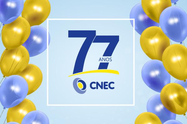 CNEC completa 77 anos!
